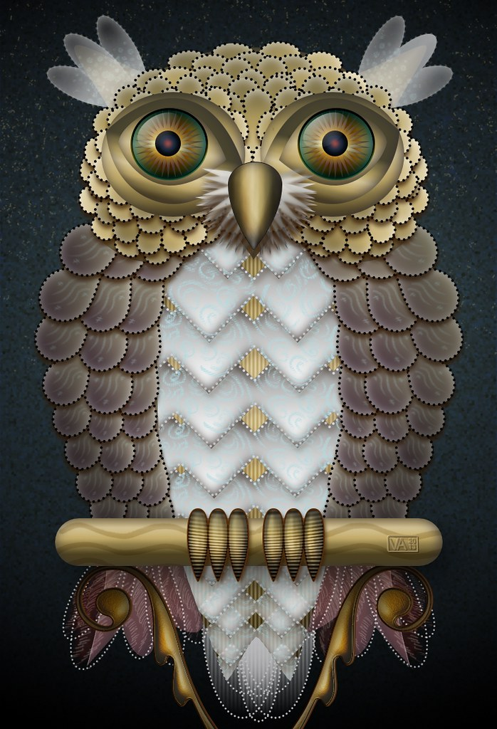 Owl Shapes madness with Pixelmator Sure, finish a million \u2026 Flickr