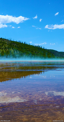 Wallpaper 3d Iphone 6 Yellowstone Prismatic Lake Wallpaper Designed