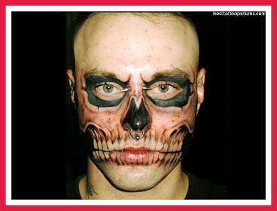 Top 10 Best Tattoos In The World skull illusion tattoo bes\u2026 Flickr