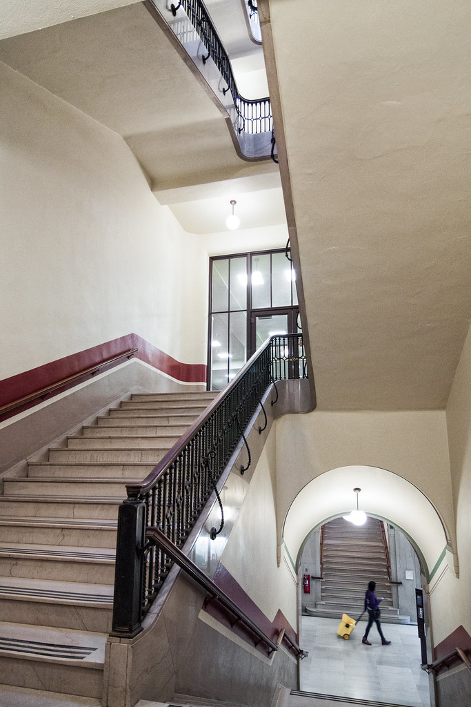 Hatcher Library University of Michigan The main stairway a\u2026 Flickr
