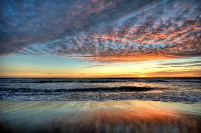 Santa Monica Sunset HDR   View On Black Sunset at the Santa …   Flickr