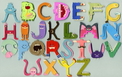 Monster Alphabet Wallpaper   Jared Schorr   Flickr