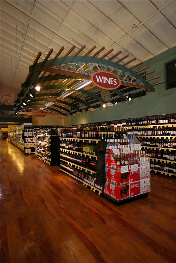 Interior Rustic Grocery Store Winery | Interior Market Decor | Grocery Sto