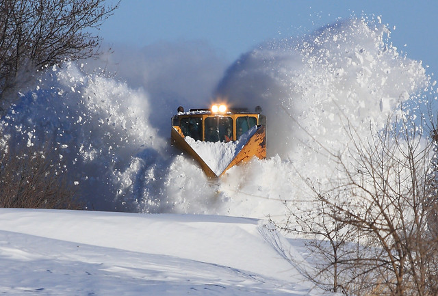 Animated Falling Snow Wallpaper Cnwx 11991 Snow Plow Drift Busting 2 Gridley Ia Flickr