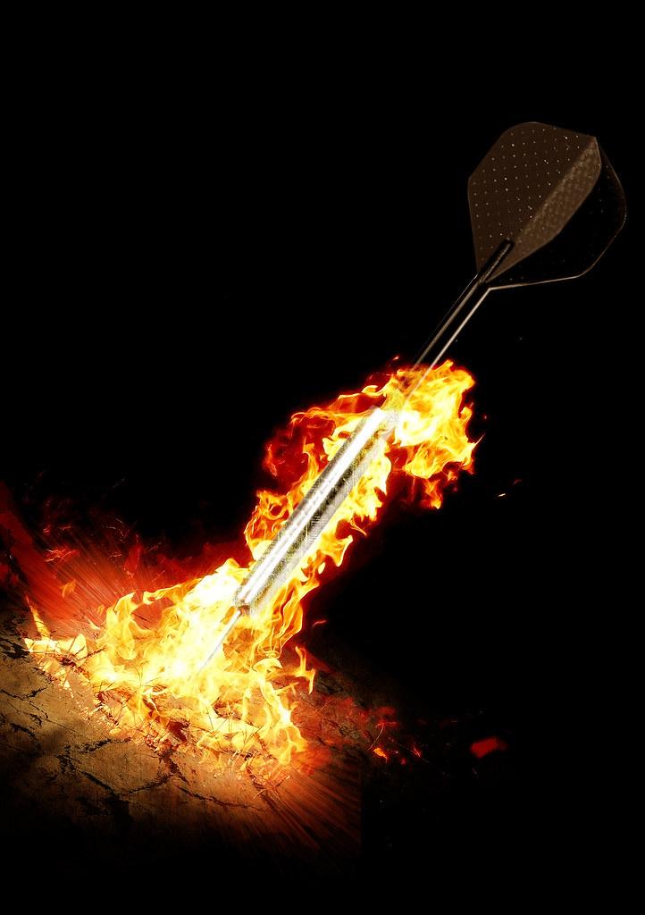3d Devil Wallpaper Darts Ground Fire Chasuk19 Flickr