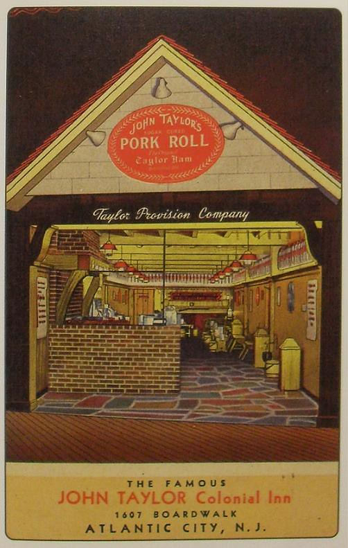 Vintage Blog 1940s Atlantic City Shore Taylor Ham Pork Roll New Jersey