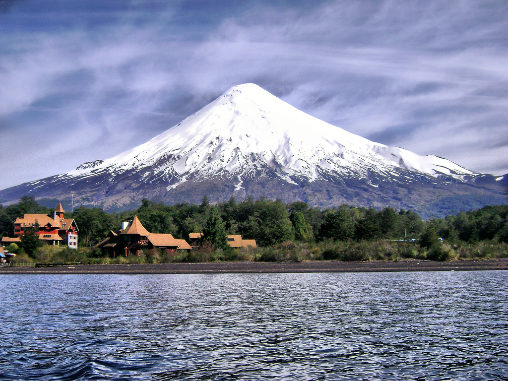 White Iphone 5 Wallpaper Hd Volcan Osorno Chile Vista Desde El Lago Quot Todos Los