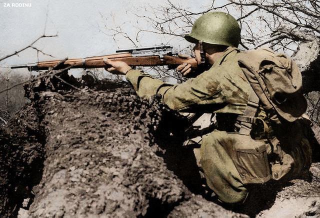 sniper seconda guerra mondiale