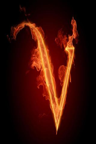 V Letter 3d Wallpaper Iphone Alphabet Wallpaper V For More Alphabets Iphone