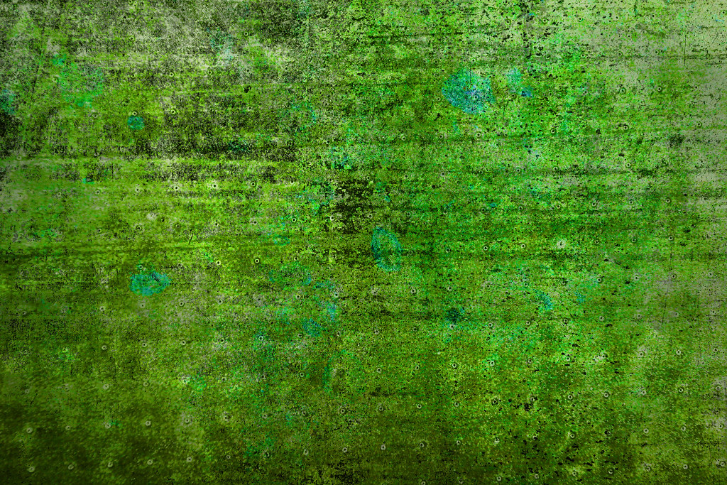 3d Wallpaper Squares Grungy Green Metal Abstract Background Of Grungy Green