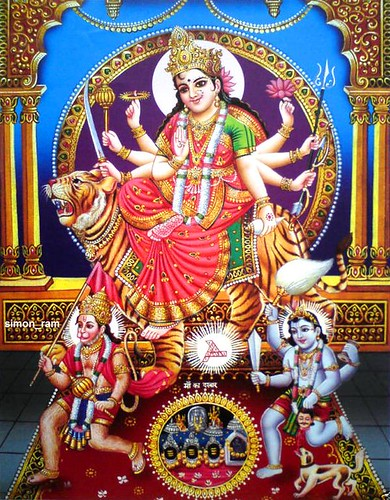Rajat 3d Wallpaper Durga Maa Hanuman And Bhairav Check Out My Durga Maa