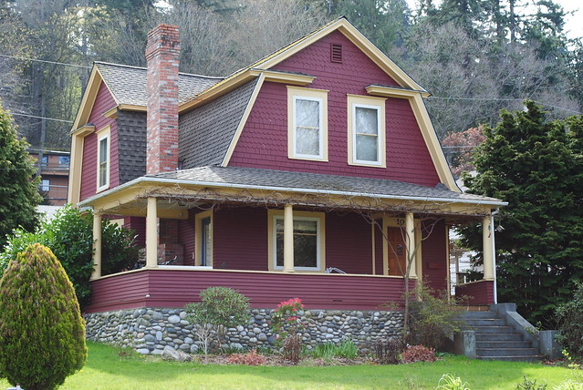 Exterior Color Schemes::Red::Paint Colors For The Historic House