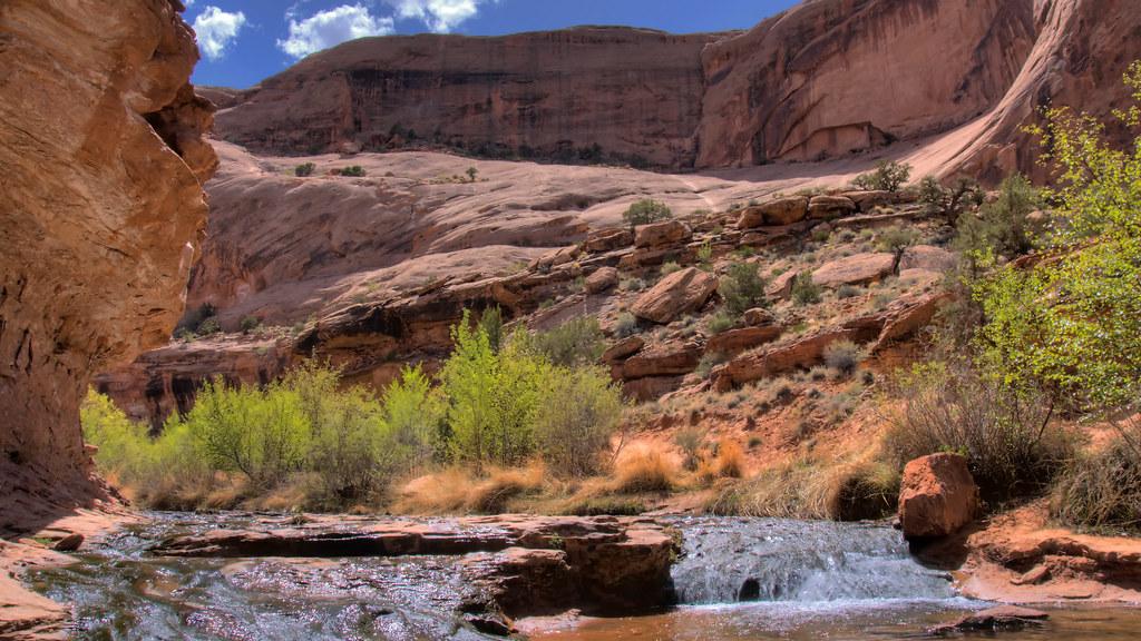 Desert Landscape Wallpaper Hd Negro Bill Canyon Negro Bill Canyon Moab Ut All Images
