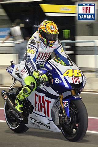 3d Iphone Wallpapers Free Iphone Wallpaper Valentino Rossi Fiat Yamaha Team Flickr