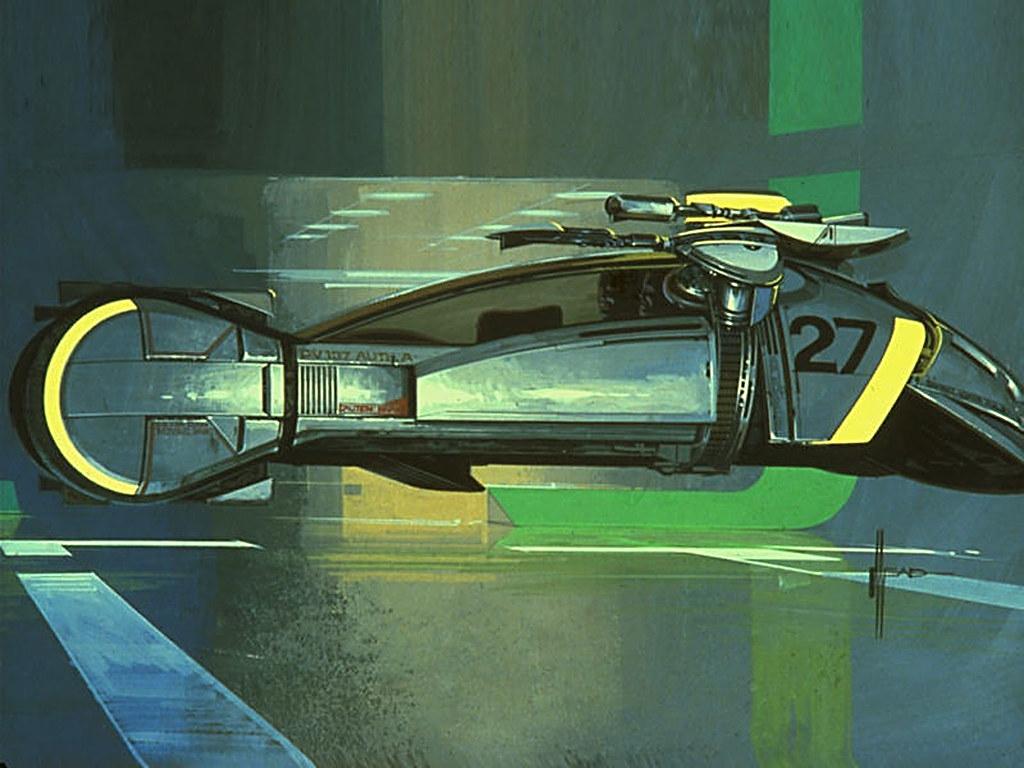 Camera Wallpaper Hd 1980 Spinner Concept Bladerunner Syd Mead