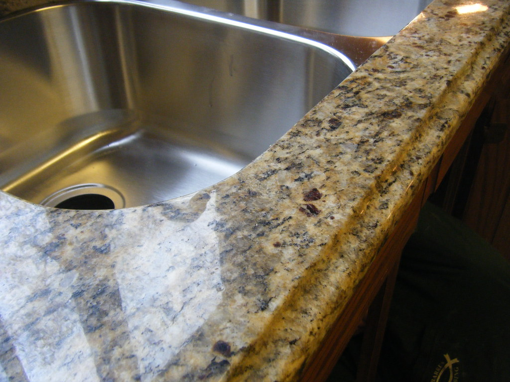 Granite Edges Santa Cecilia Granite Edge Treatment Remodeling Want To