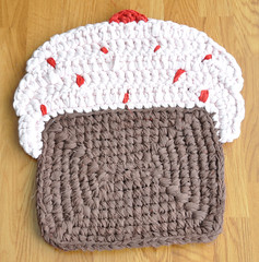 Pale Pink Cupcake Rug A New Cupcake Rug I Crocheted