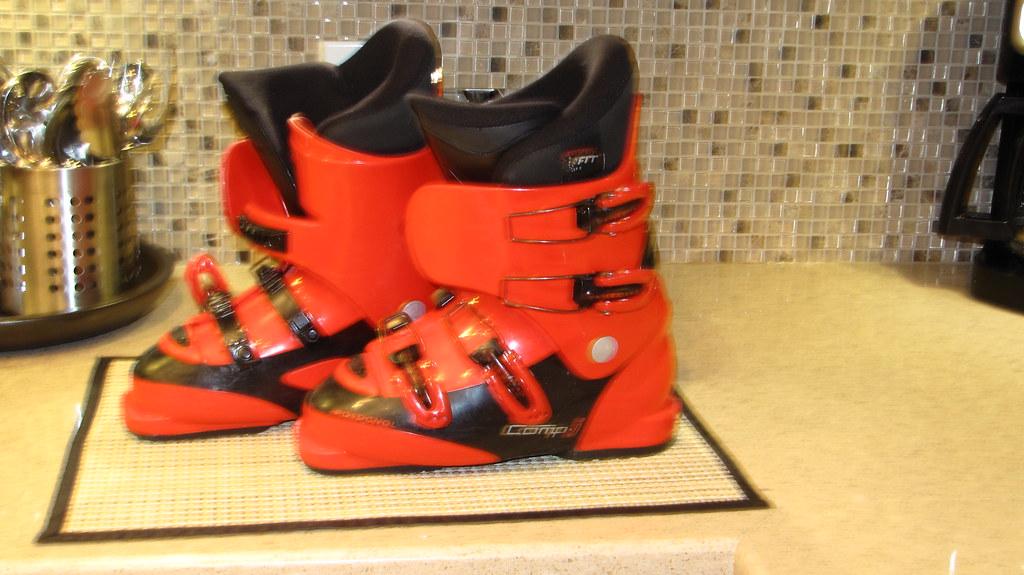 Kids Ski Boot Size 235 Rossignol Ski Boots 235 Flickr