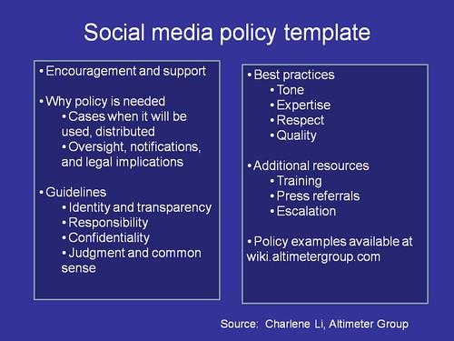 Social Media Policy socialmediapolicytoolnet/ bethtypep\u2026 Flickr