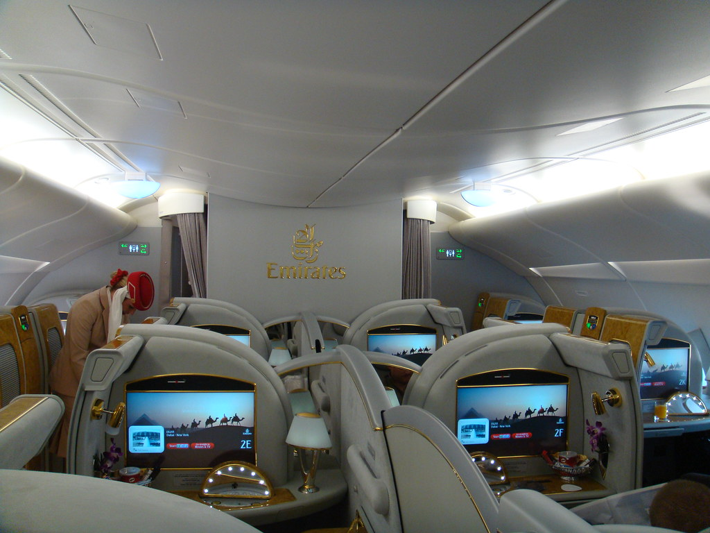 Interieur Airbus A380 Emirates Airbus A380 Interior Shot Taken By My Friend