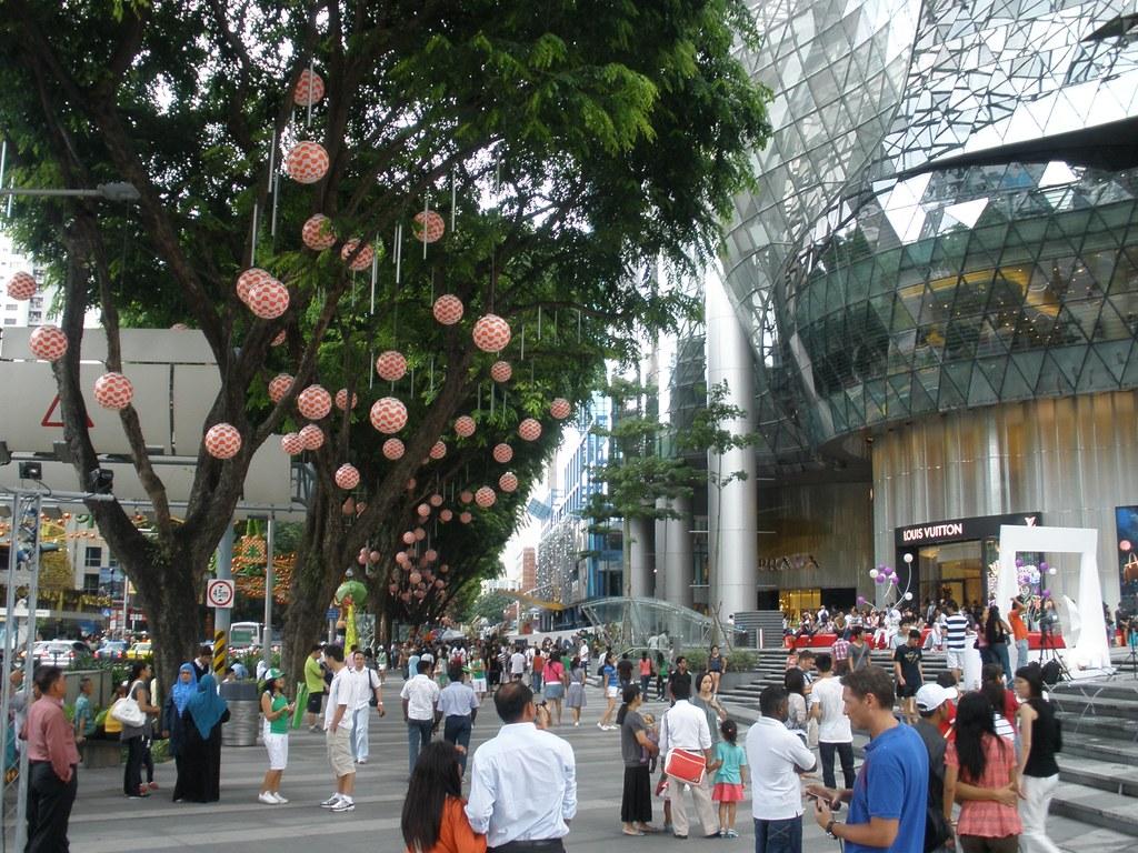 3d Street Wallpaper Orchard Road Singapore Michael Spencer Flickr