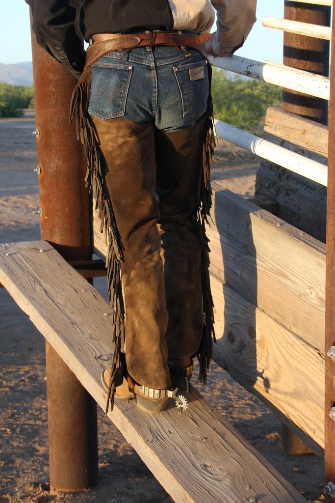 3d Wallpaper Cowboys Wrangler Cowboy Wrangler Cowboy Rear Az Chaps Flickr