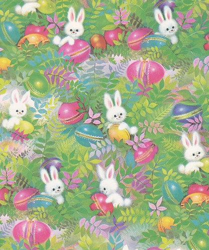 Cute Funny Babies Hd Wallpapers Vintage Easter Wrap Norcross 1960s A Norcross Gift Wrap