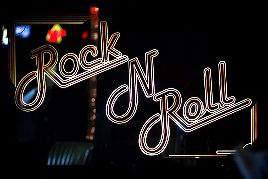 Neon Wallpaper Hd 3d Rock N Roll Sean Davis Flickr