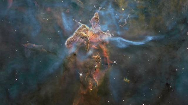 Universe Wallpaper Hd 3 D Trip Into The Carina Nebula Hd Video Nasa Release