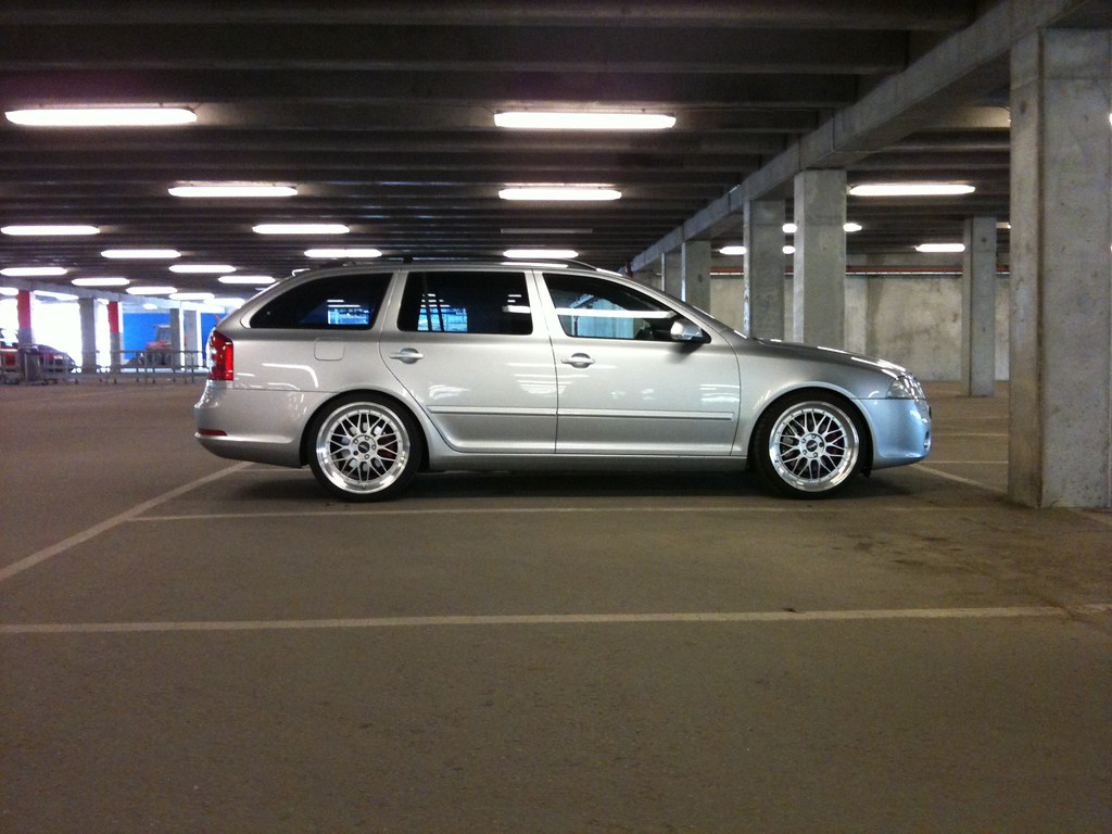 Ikea Le Mans At Ikea Our Skoda Octavia Rs With 8 5x19 Quot Et45 Bbs Le