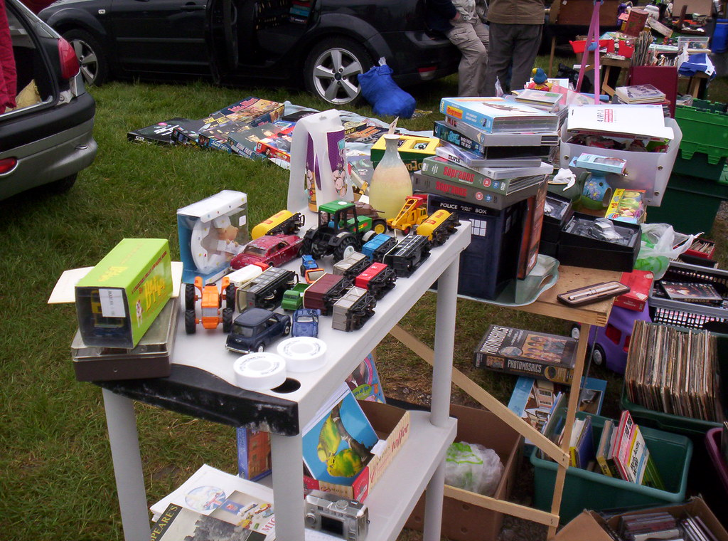 York Saturday Car Boot Sale In Full Swing About 1030