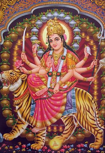 God Ganesh Hd Wallpaper Maa Sherawali Check Out My Durga Maa Videos At Www