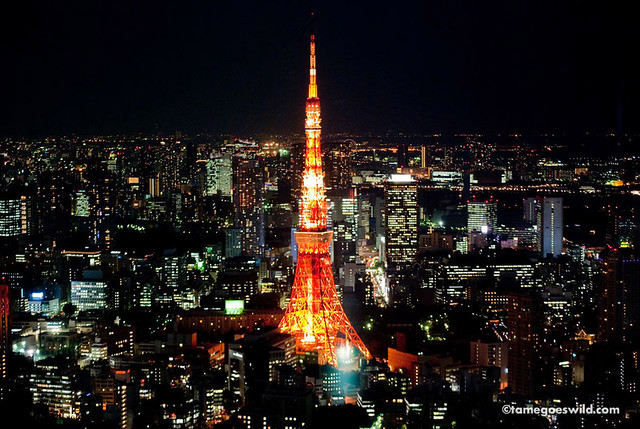 Cars Hd Mobile Wallpapers Mori Tower Sky Deck Tokyo Tower By Night The Original