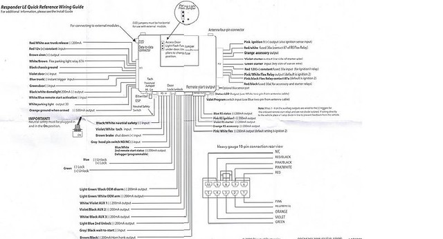 viper 130xv remote start wiring diagram
