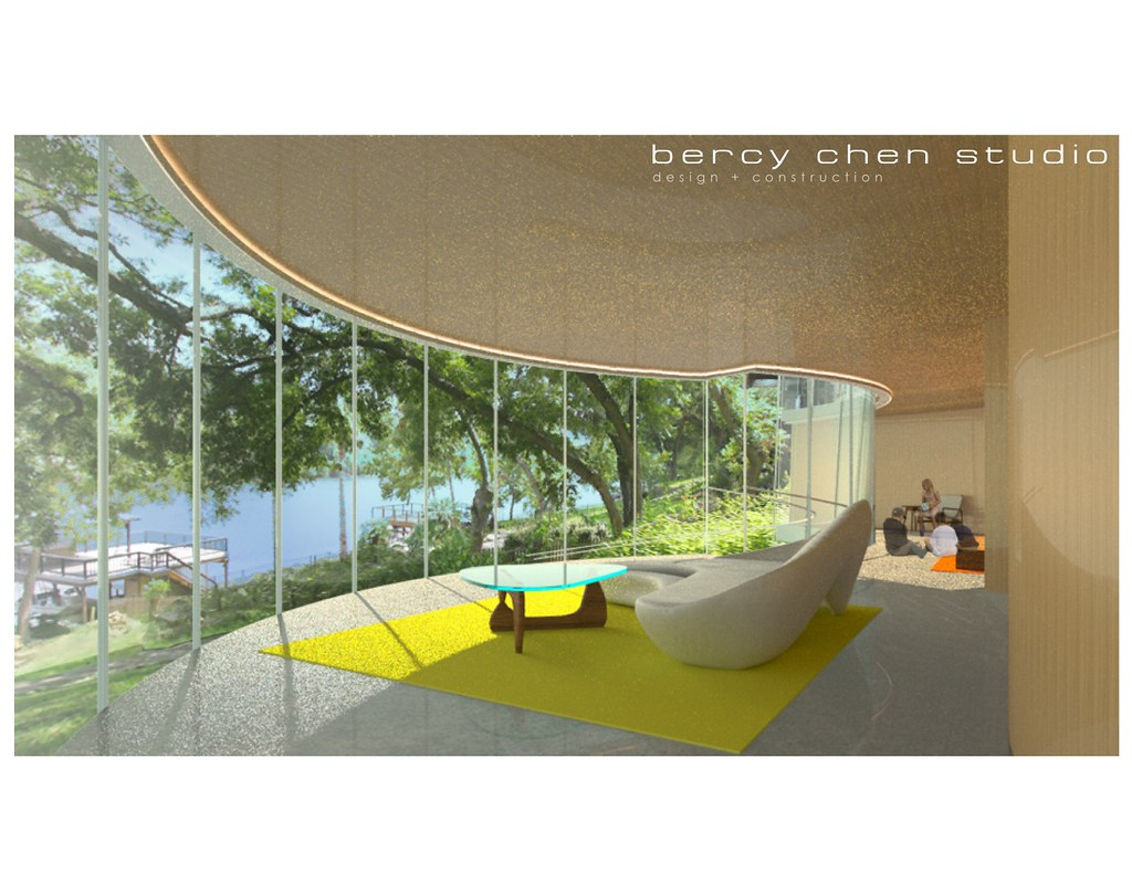 Studio Bercy Lake Austin Curved Glass House Flickr