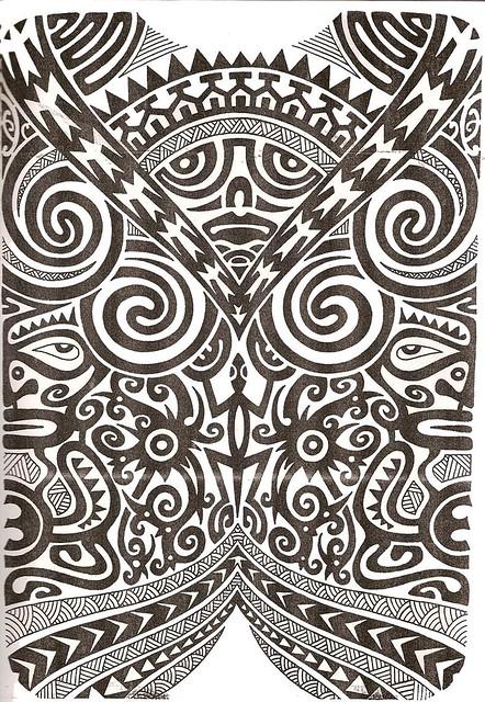 Tribal Wallpaper 3d Maori Tattoo Kirituhi Polinesia Polynesian Tatuaje Flickr