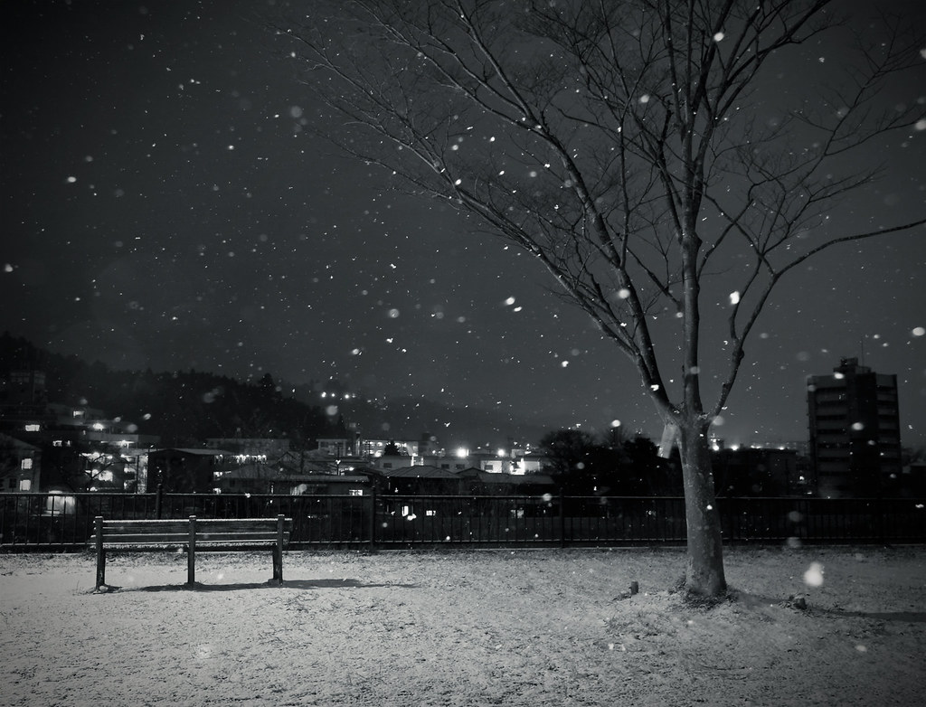 Black Screen Wallpaper Dark Winter Nights View Big On Black Wan Iktab Flickr
