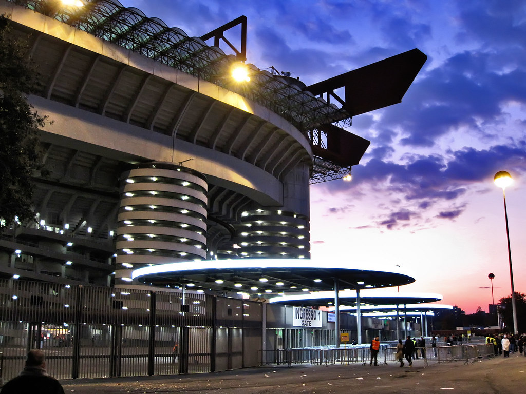 3d Football Stadium Wallpaper San Siro Stadio Giuseppe Meazza The Stadio Giuseppe