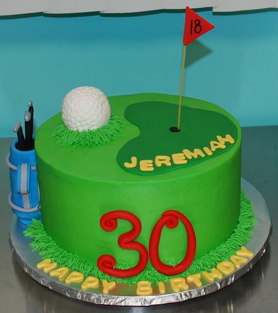 Golf Birthday Cake Flickr Photo Sharing