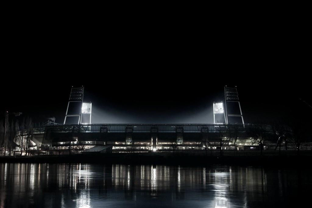 New 4k 3d Hd Wallpaper Weserstadion Bei Nacht 3 Das Weserstadion W 228 Hrend Des