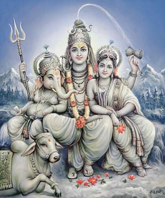 Shiv Parvati 3d Wallpaper Shiv Parvati Ganesh शून्यस्यः Flickr