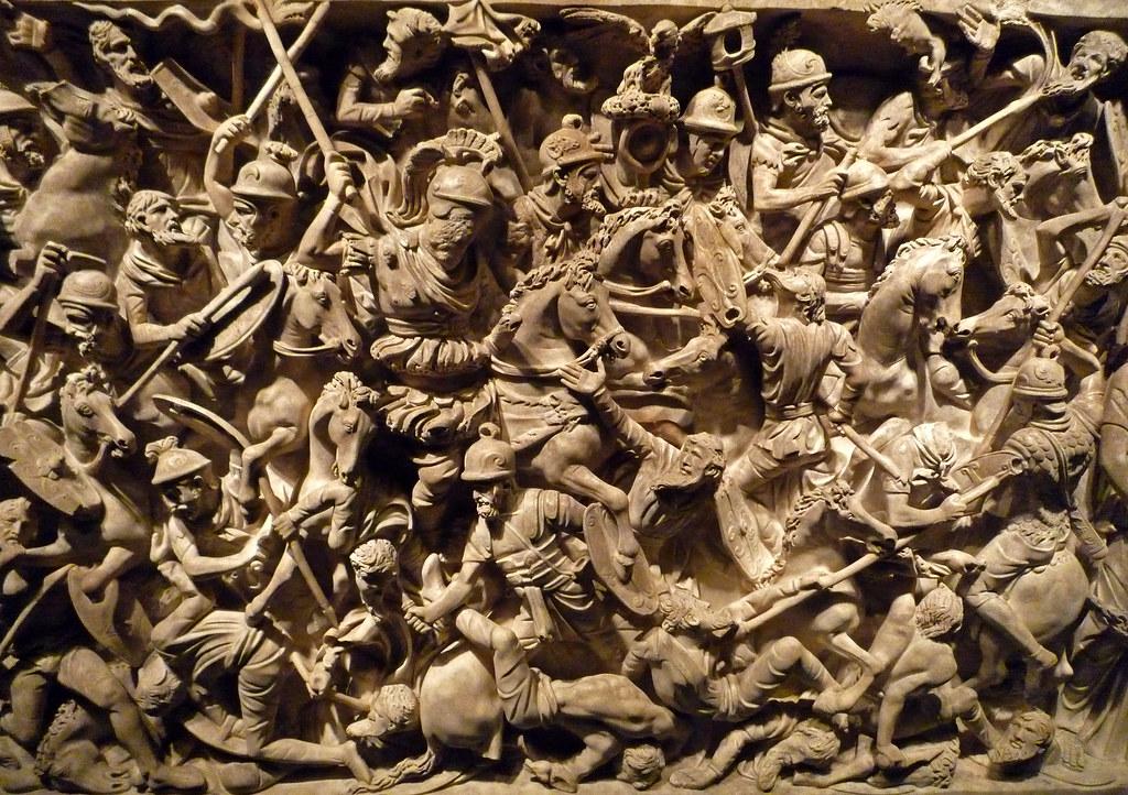 3d War Wallpaper Batalla Entre Romans I B 224 Rbars Sarc 242 Fag Del Portonaccio