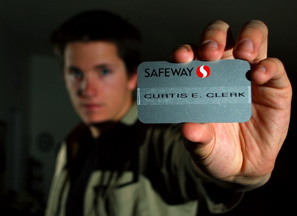 Curtis E Clerk (June 1st- Day 152) Yes I work at Safeway,\u2026 Flickr