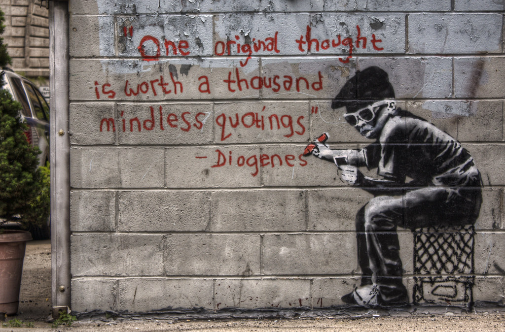 Meaningful Life Quotes Wallpapers A Banksy In Dumbo Not One But Two New Banksys Have