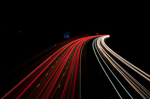Car Lights Night Wallpaper Car Light Trails M27 At Copythorne 1 Simon Roberts Flickr