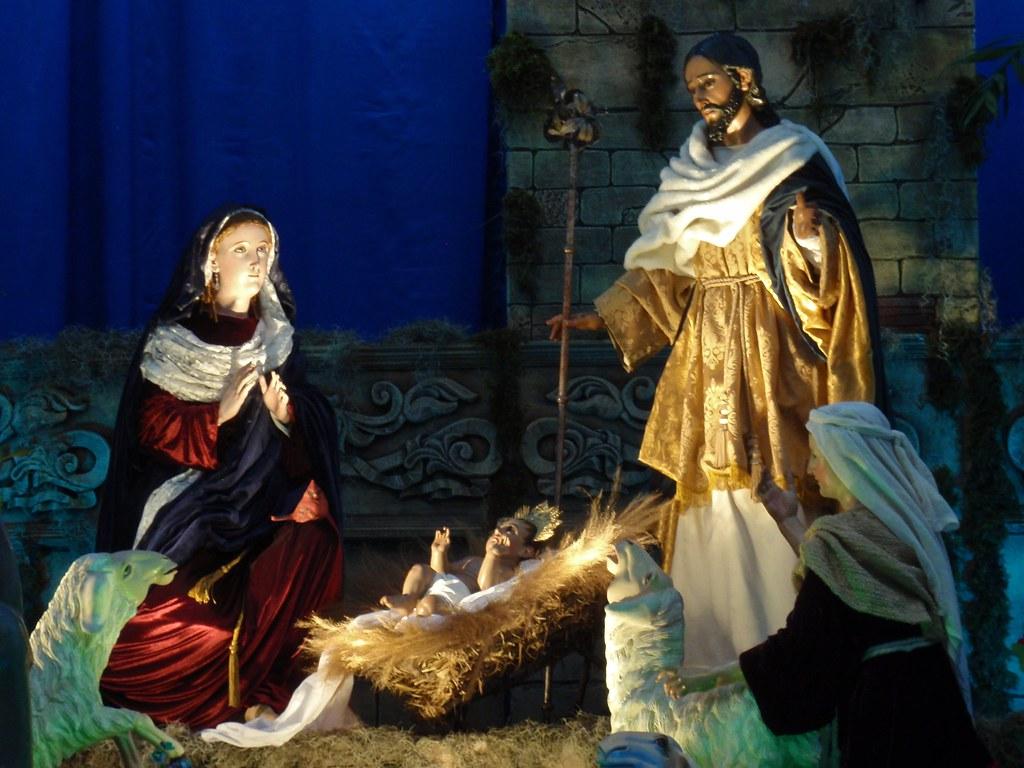 Jesus Christ 3d Wallpaper Manger Scene Creche Catedral Metropolitano Zona 1