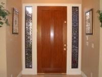 Decorative Sidelight Door Window | The decorative Iron ...