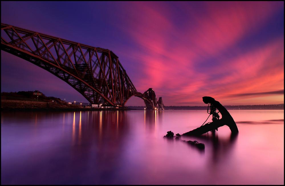 Famous Anime Wallpaper Forth Rail Bridge Sunset Scotland Explore 1 Thanks