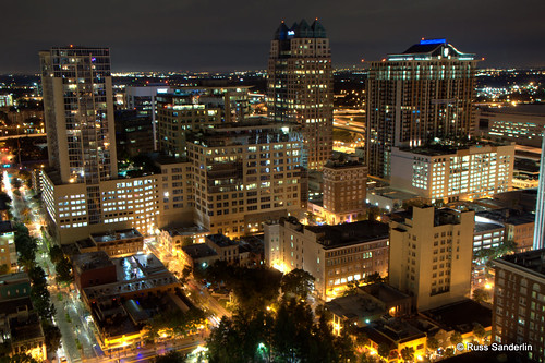 Free 3d Christmas Desktop Wallpaper Downtown Orlando Overlooking Downtown Is A Great View