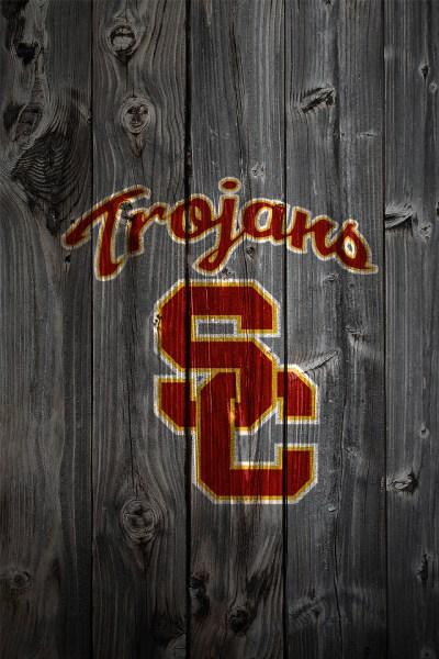 USC Trojans Wood iPhone 4 Background | USC Trojans Logo on W… | Flickr